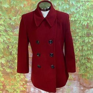 Calvin Klein Wool Blend Pea Coat